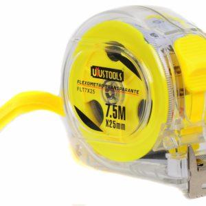 Flexometro Transparante 7.5M*25 Uyu-0